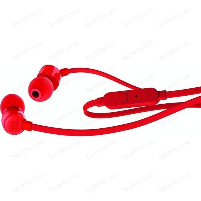 Наушники JBL T110 red