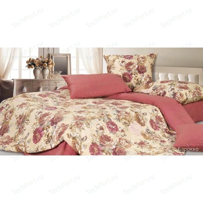 Комплект постельного белья Ecotex Евро, сатин, Барокко (4670016950932)