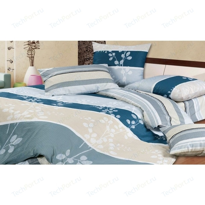 Комплект постельного белья Ecotex Евро, поплин, Мирабелла (4650074952765)