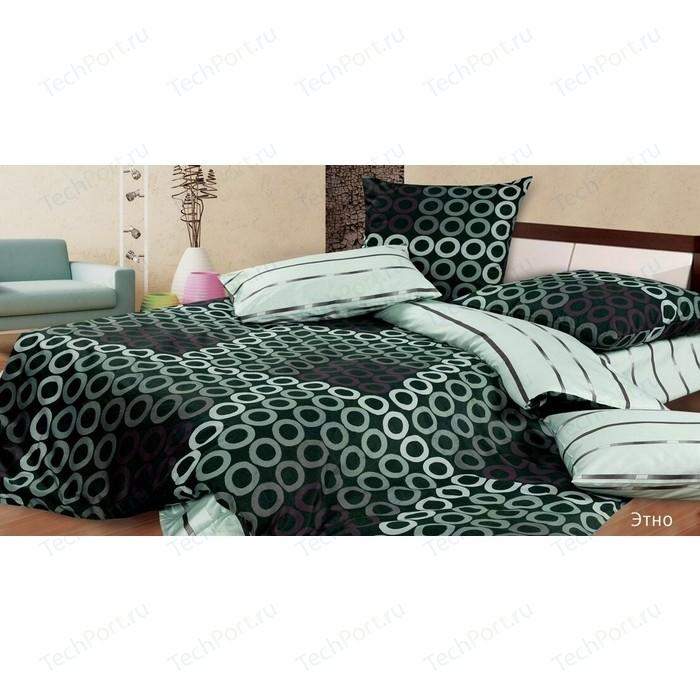 Комплект постельного белья Ecotex Евро, поплин, Этно (4650074953182)