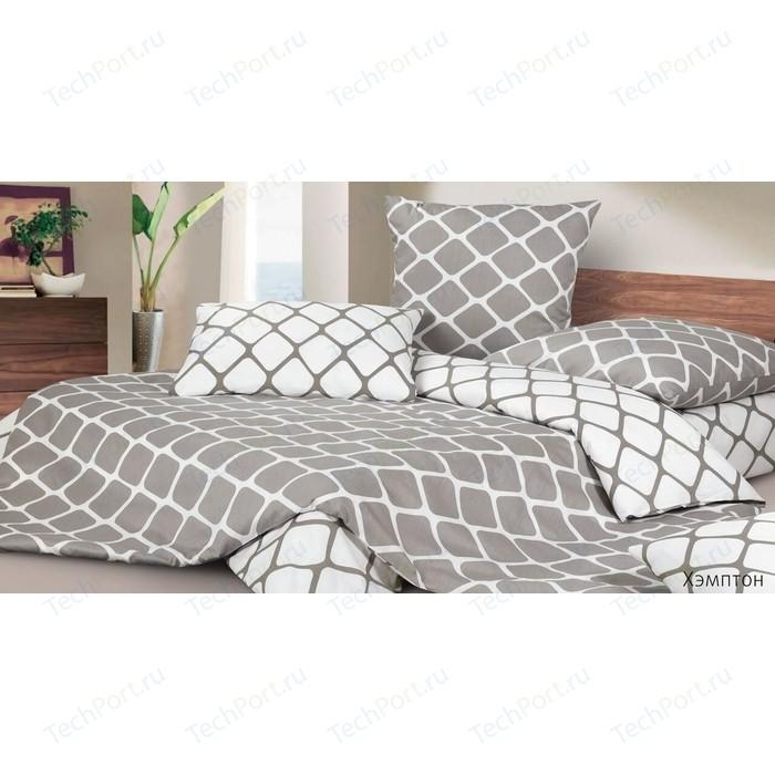 Комплект постельного белья Ecotex Евро, сатин, Хэмптон (4650074954486)