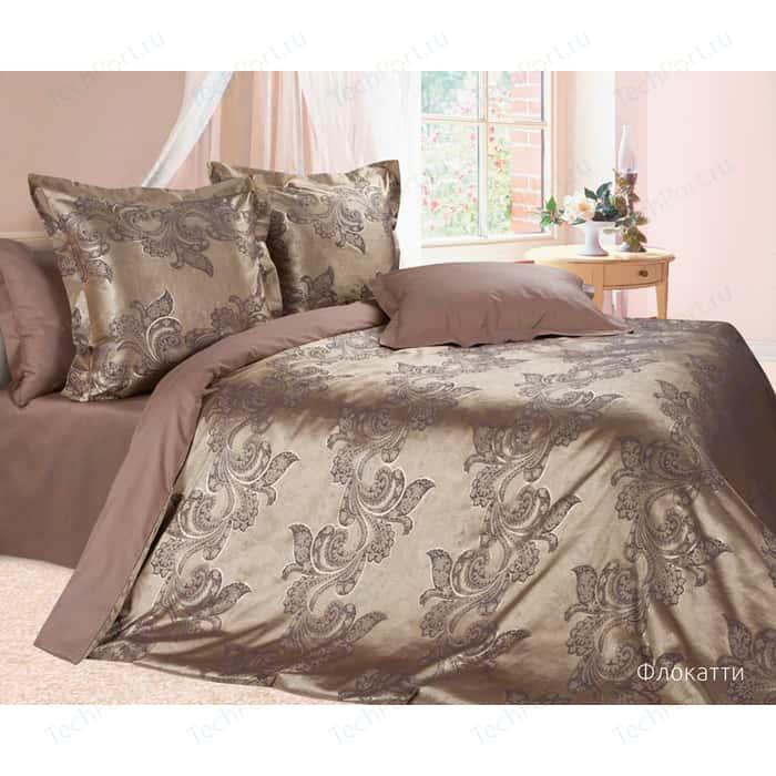 Комплект постельного белья Ecotex Семейный, сатин-жаккард, Флокатти (4670016956569)