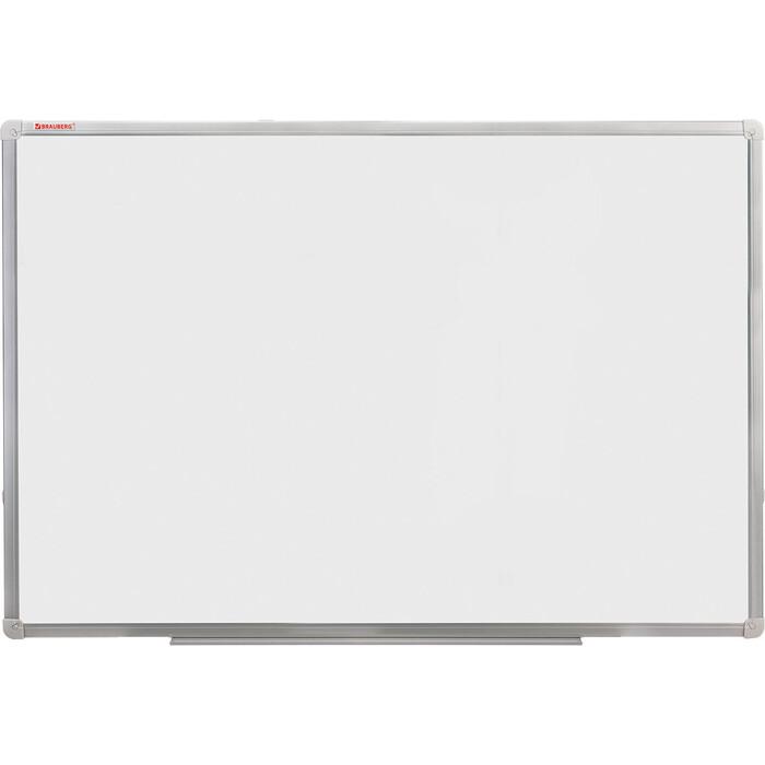 Доска магнитно-маркерная BRAUBERG Стандарт 100x150 см алюминиевая рамка 235523