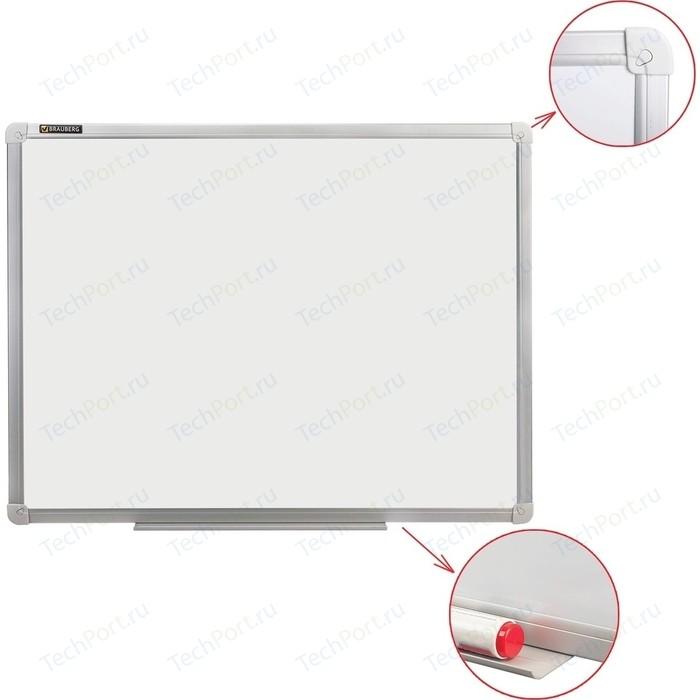 Доска магнитно-маркерная BRAUBERG Стандарт 45x60 см алюминиевая рамка 235520