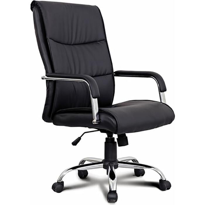 Кресло офисное Brabix Space EX-508 экокожа хром черное 530860