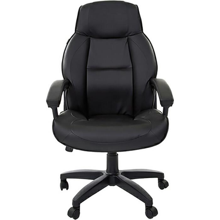 Кресло офисное Brabix Formula EX-537 экокожа черное 531388