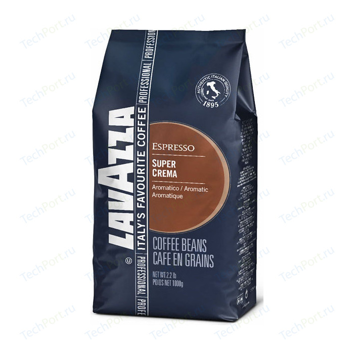 Кофе в зернах Lavazza Super Crema Bag 1000 beans