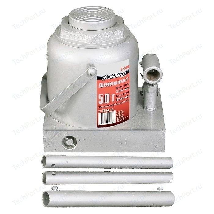 Домкрат гидравлический бутылочный Matrix 50т 236-356мм Master (50737)