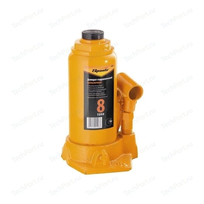 Домкрат гидравлический бутылочный SPARTA 8т 200-385мм (50324)
