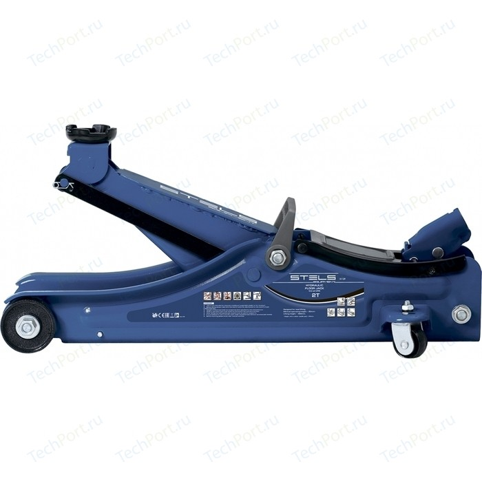 Домкрат подкатной гидравлический Stels 2т 80-380мм Low Profile (51130)