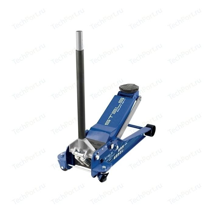Домкрат подкатной гидравлический Stels 3.5т 100-565мм Low Profile Quick Lift (51135)