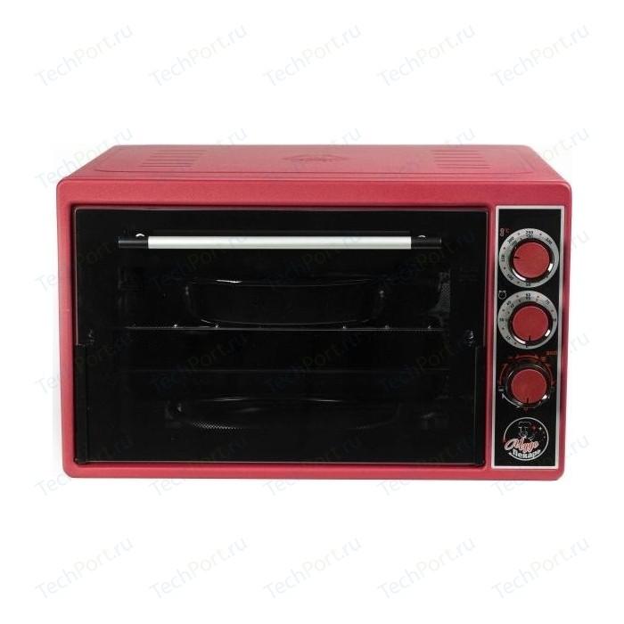 Мини-печь Чудо Пекарь ЭДБ 0123 (красн) мини печь чудо пекарь эдб 0122 сереб мет