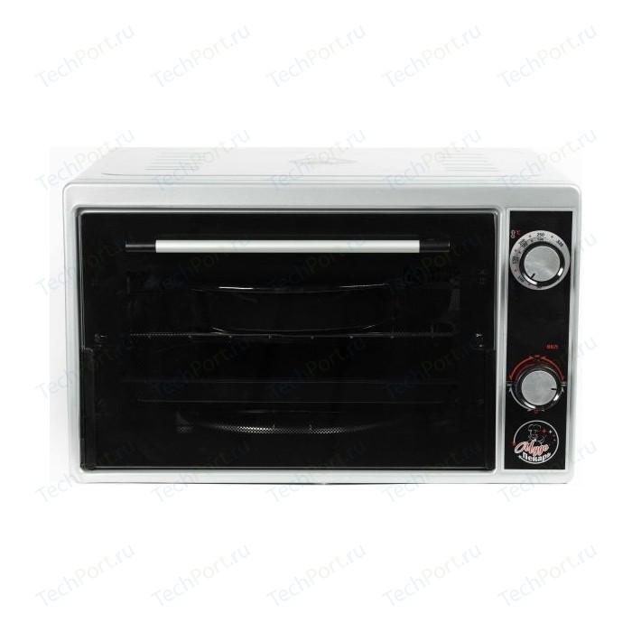 Мини-печь Чудо Пекарь ЭДБ 0122 (сереб/мет) мини печь чудо пекарь эдб 0122 сереб мет