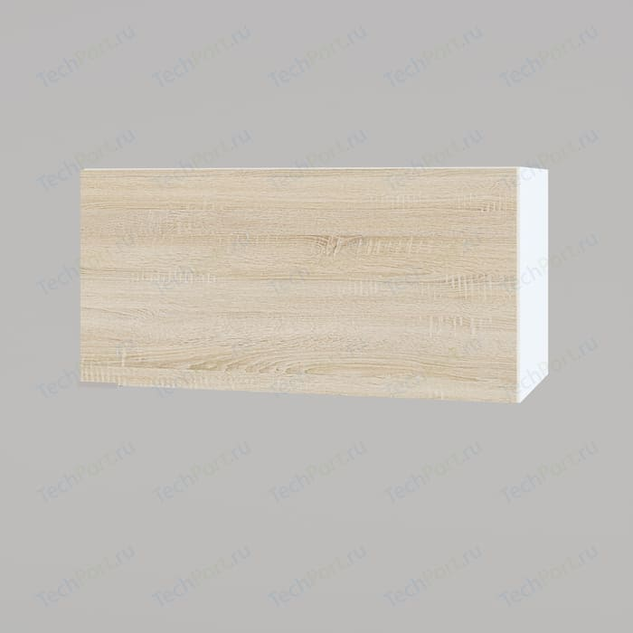 Полка настенная СОКОЛ ПН-06.2 белый/дуб сонома