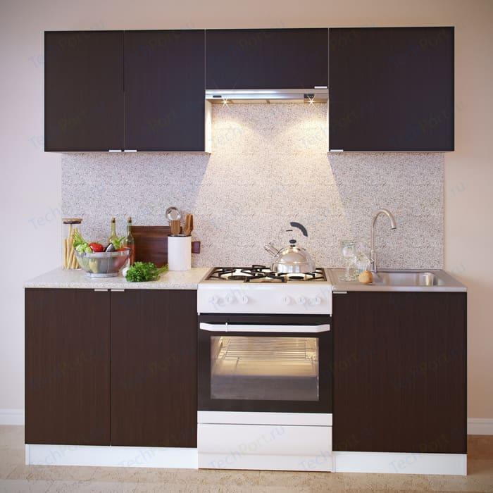 Кухня СОКОЛ ПН-08 белый/венге + ТК-08 ПН-06.2 ПН-06 ТК-06м