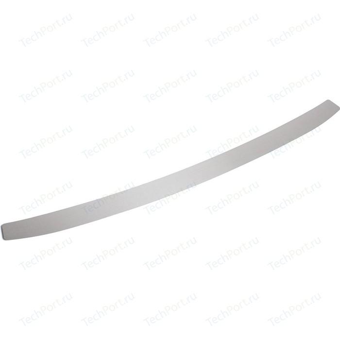 Накладка на задний бампер Rival для Kia Rio III рестайлинг хэтчбек (2015-2016), нерж. сталь, NB.H.2801.1