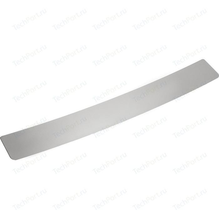 Накладка на задний бампер Rival для Ravon Nexia R3 (2016-н.в.), нерж. сталь, NB.1302.1
