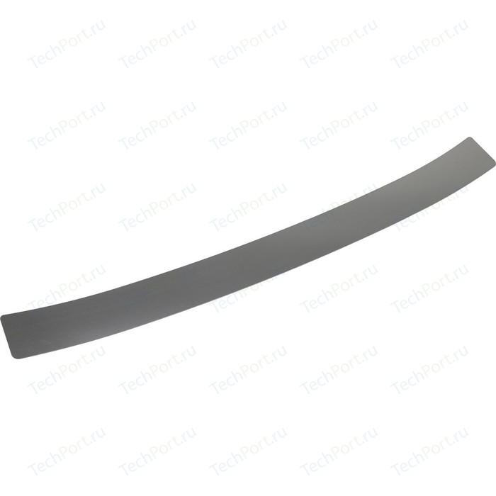 Накладка на задний бампер Rival для Toyota Fortuner II (2017-н.в.), нерж. сталь, NB.5710.1
