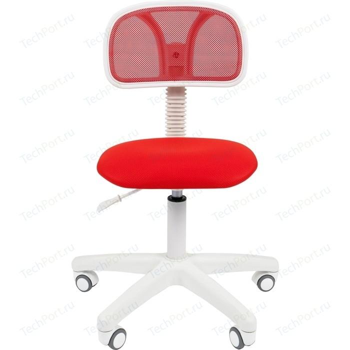 Офисноекресло Chairman 250 белый пластик TW-19/TW-69 красный