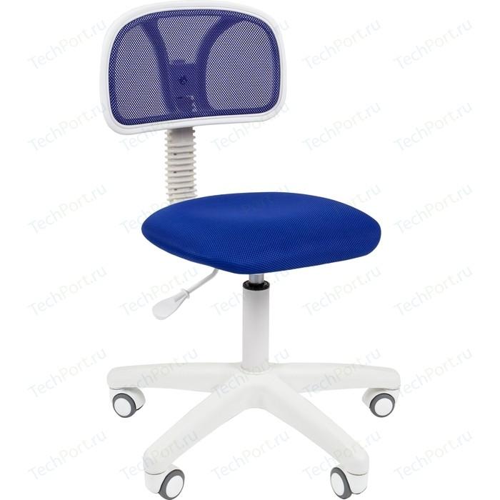 Офисноекресло Chairman 250 белый пластик TW-10/TW-05 синий