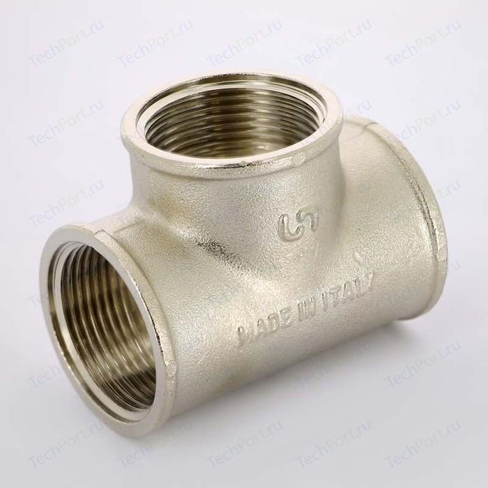 Тройник Uni-Fitt В 11/4 никелированный (615N5550)