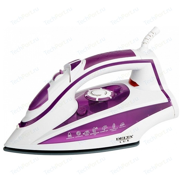 Утюг Delta LUX DL-352 фиолетовый