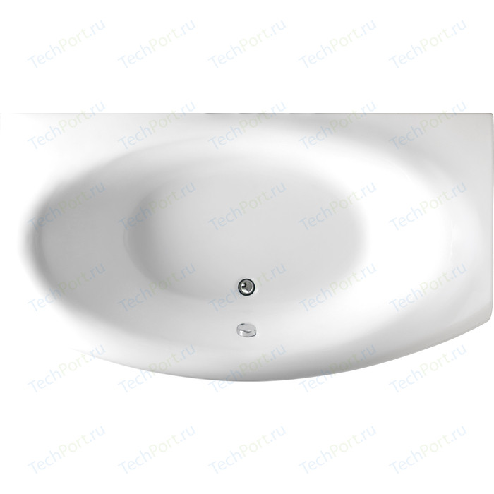 Акриловая ванна 1Marka Marka One Nega прямоугольная 170x95 см (4604613102364)