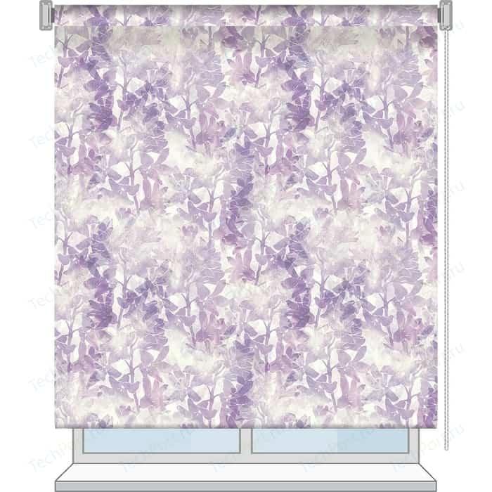 Рулонная штора Волшебная ночь 60x175 Стиль Прованс Рисунок Lily