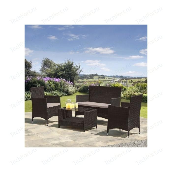 Комплект мебели из искусственного ротанга Afina garden AFM-2025A brown