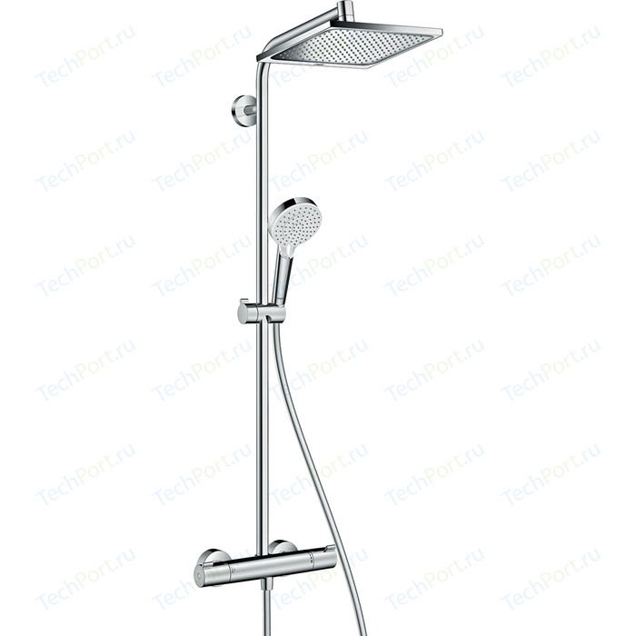 Душевая система Hansgrohe Crometta Е 240 1jet Showerpipe (27271000)