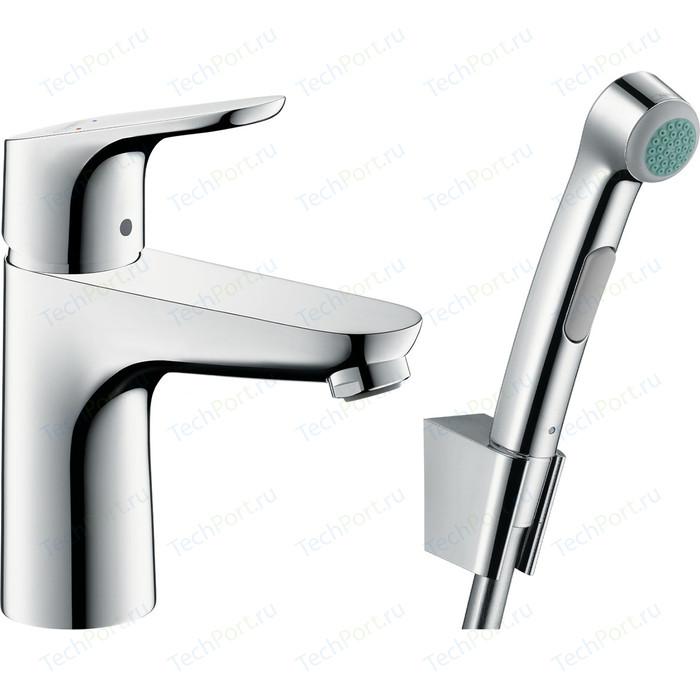 Смеситель для раковины Hansgrohe Focus с гигиеническим душем, хром (31927000)