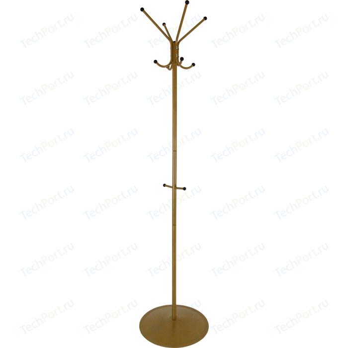 Вешалка напольная Мебелик Пико 1 золото