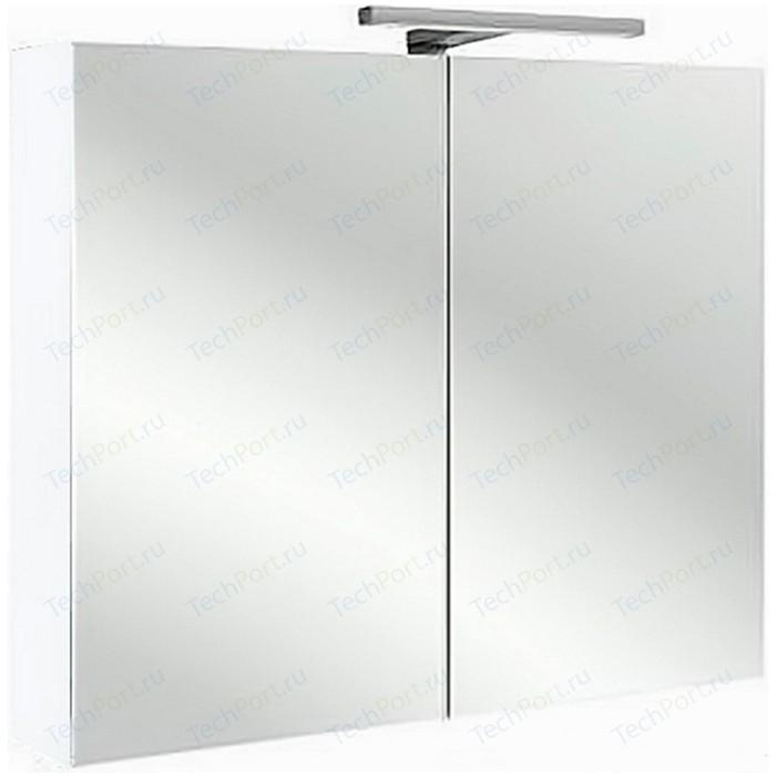 Зеркальный шкаф Jacob Delafon 80x65 см, белый блестящий (EB796RU-G1C)