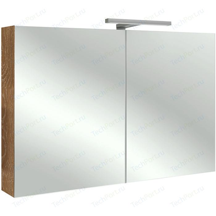 Зеркальный шкаф Jacob Delafon 100x65 см, арлингтонгский дуб (EB797RU-E70)