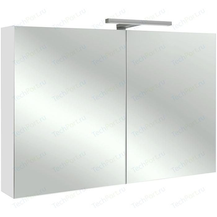 Зеркальный шкаф Jacob Delafon 100x65 см, белый блестящий (EB797RU-G1C)