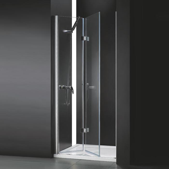 Душевая дверь Cezares Anima BS 80x195 прозрачная, хром (Anima-W-BS-80-C-Cr)