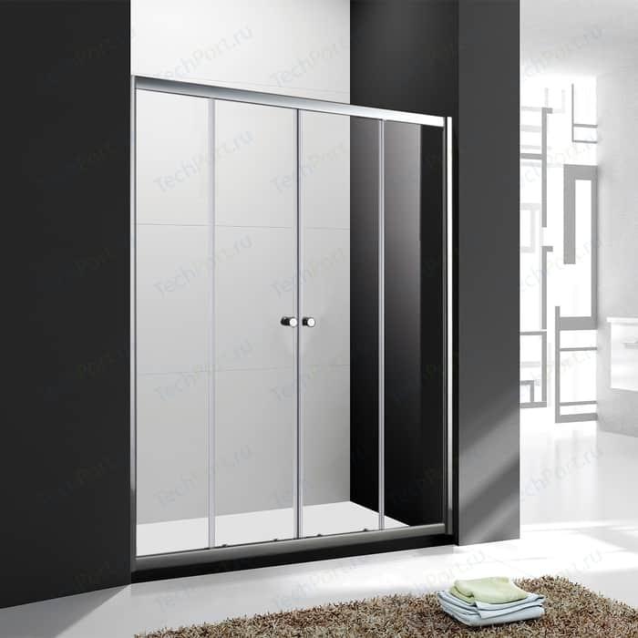 Душевая дверь Cezares Anima BF-2 180x195 прозрачная, хром (ANIMA-W-BF-2-180-C-Cr)
