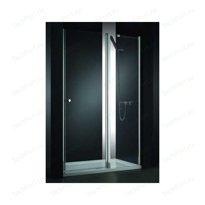 Душевая дверь Cezares Elena W-B-12 120 Punto, хром, правая (Elena-W-60/60-P-Cr-R, VE-W-WLM-Cr)
