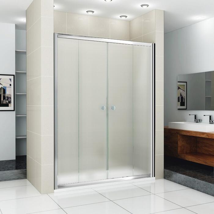 Душевая дверь Cezares Pratico BF-2 160 Punto, хром (Pratico-BF-2-160-P-Cr)