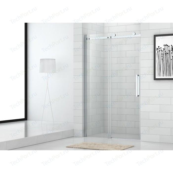 Душевая дверь Cezares Stylus-M BF-1 150x195 прозрачная, хром (Stylus-O-M-BF-1-150-C-Cr)