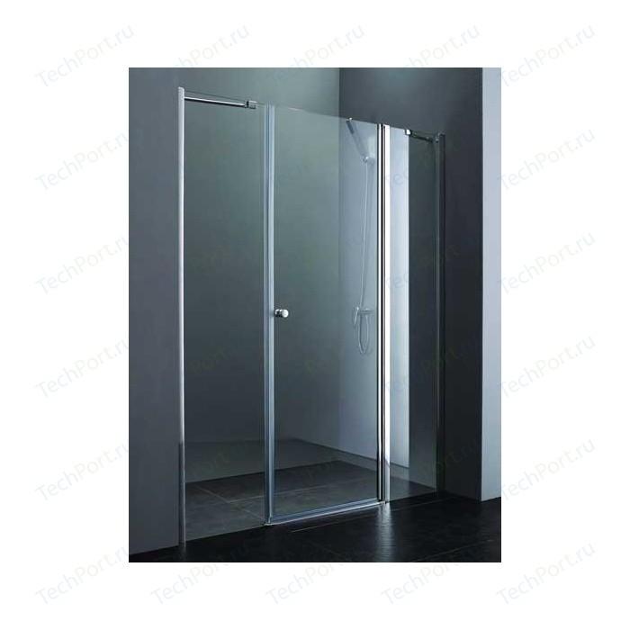 Душевая дверь Cezares Elena W-B-13 215 прозрачная, хром (Elena-W-60/60-C-Cr, VE-W-100-FIX-C-Cr)