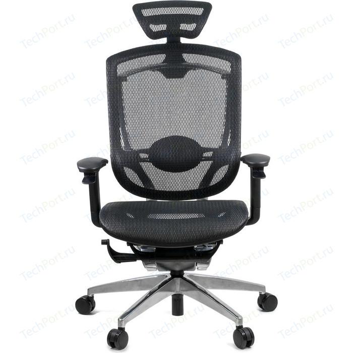 Кресло эргономичное GTChair GT07-35X GT-11 Marrit black (polished frame)