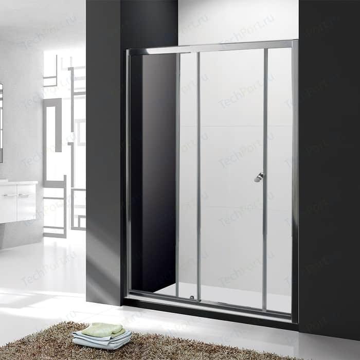 Душевая дверь Cezares Anima BF-1 140x195 прозрачная, хром (Anima-W-BF-1-140-C-Cr)