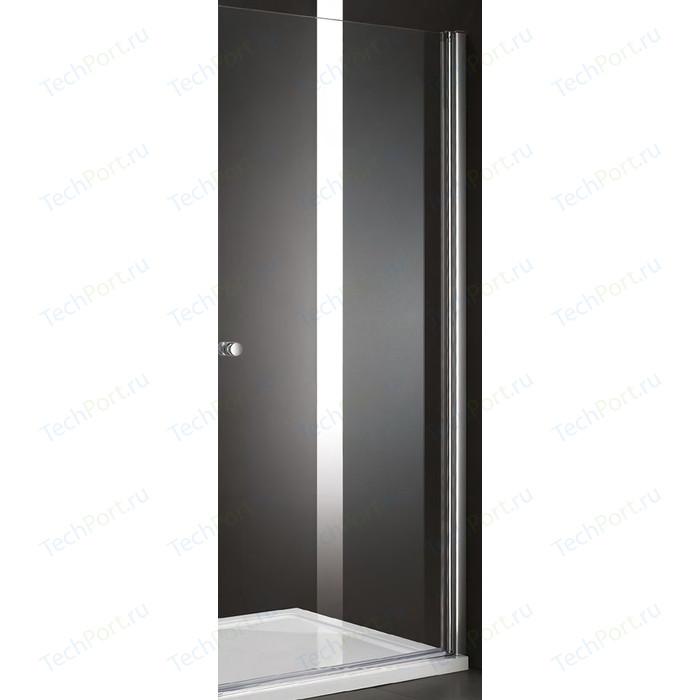 Дверное полотно Cezares ELENA-W-60-P-Cr-R правая профиль хром, стекло рифленое Punto