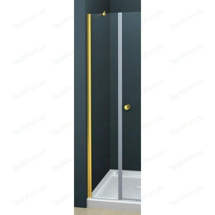 Универсальная боковая панель Cezares ROYAL PALACE-A-30-FIX-C-G профиль золото, стекло прозрачное