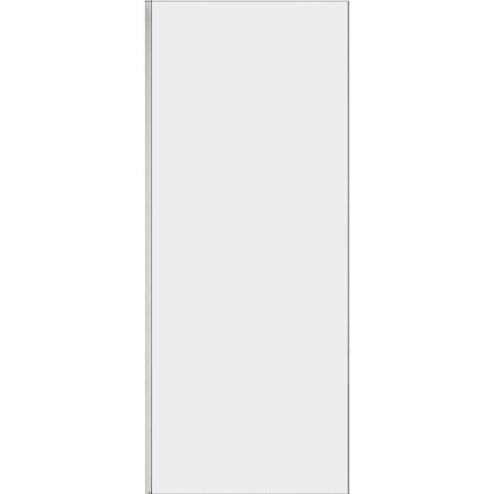 Универсальная боковая панель Cezares STREAM-90-FIX-C-Cr стекло прозрачное