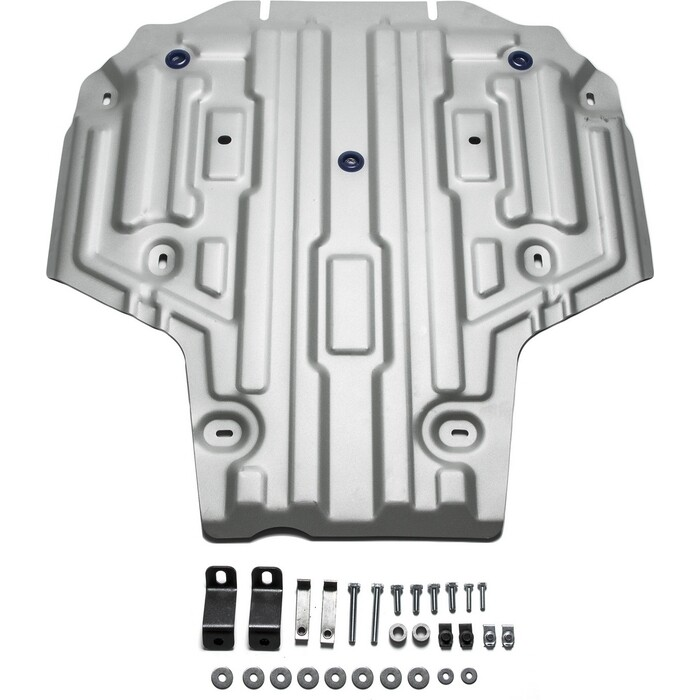 Защита КПП Rival для Audi A4 АКПП (2015-н.в.), A5 4WD (2016-н.в.), алюминий 4 мм, 333.0335.1