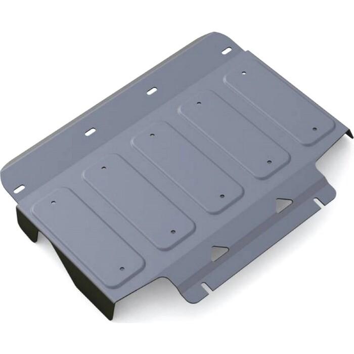 Защита радиатора Rival для Infiniti QX56 (2010-2013), QX80 (2013-н.в.), алюминий 4 мм, 3.2408.1
