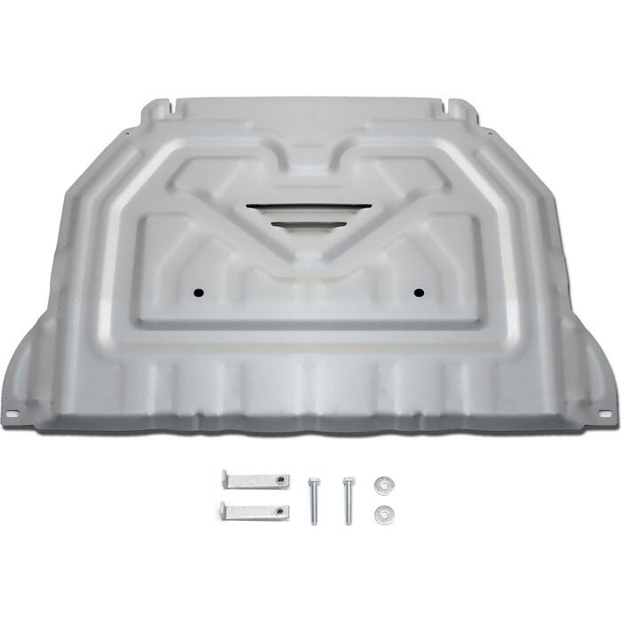 Защита картера и КПП Rival для Mitsubishi Outlander (2012-2018 / 2018-н.в.), алюминий 4 мм, 333.4036.1