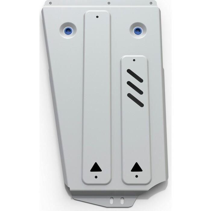 Защита РК Rival для Mitsubishi Pajero IV (2006-2011 / 2011-н.в.), алюминий 4 мм, 333.4011.3
